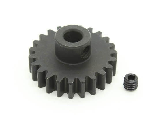 23T / 5 mm M1 Hardened pinhão Steel (1pc)