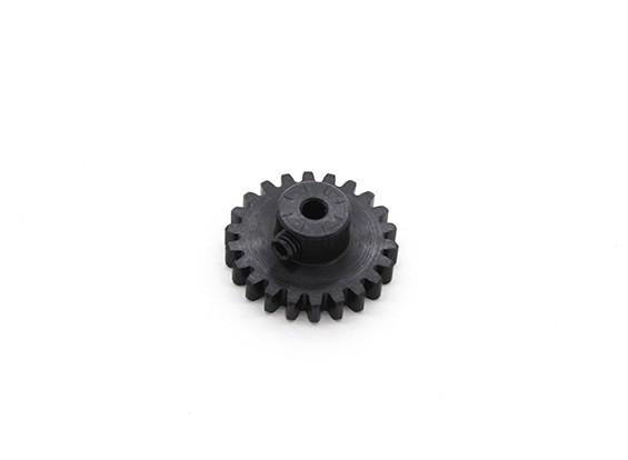22T / 3,175 milímetros M1 Hardened pinhão Steel (1pc)