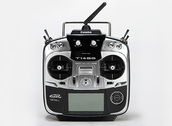 Futaba 14SG 14-Channel 2.4GHz Computer Sistema de Rádio de 2,4 GHz FASSTest (Set) (Modo 2)