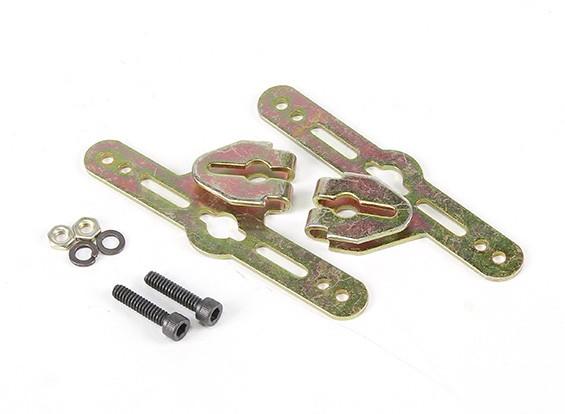 Sullivan suportes de montagem 3/16 polegadas roda ajustável Pant (1 jogo)