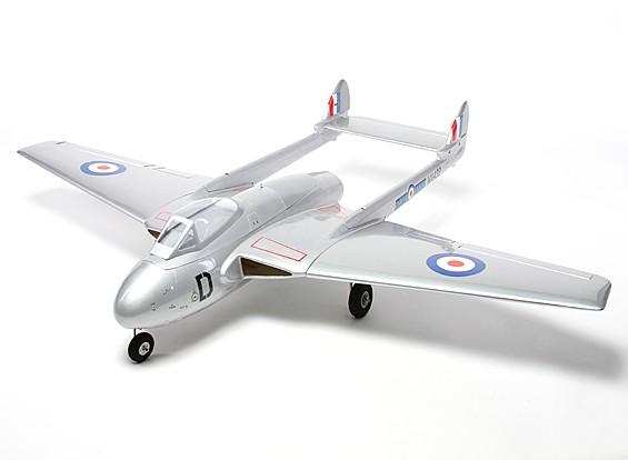 De Havilland Vampire 90 milímetros EDF Composite 1,410 milímetro (ARF)