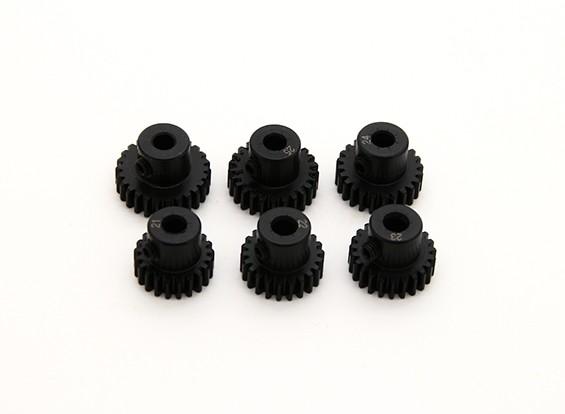 Pinhão aço temperado Set 48P para caber 3,175 milímetros Shaft (21/22/23/24/25 / 26T)