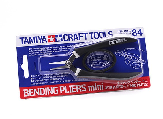 Tamiya Mini Bending Alicates de peças-foto gravada (1pc)