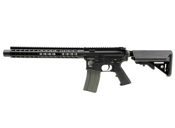 DYTAC Combate Série UXR4 Silence M4 AEG versão padrão (preto)