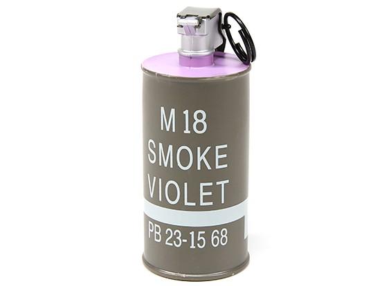 Dytac manequim M18 Decoração Smoke Grenade (roxo)
