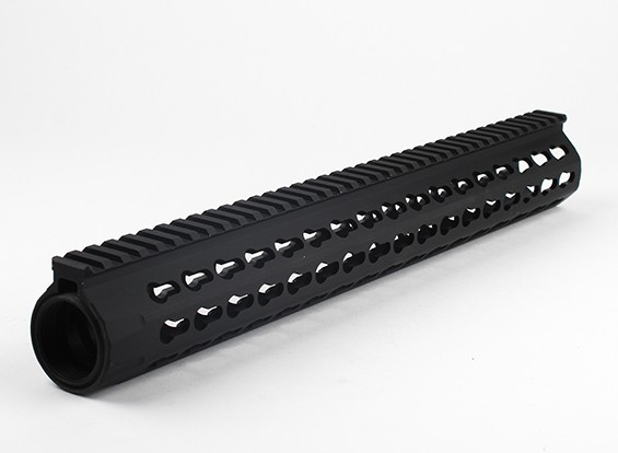 Dytac UXR4 Rail 14,5 polegadas para Systema PTW Perfil (1 1/4 de polegada / 18, Preto)
