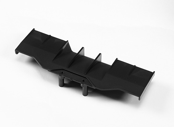 Difusor traseiro - The Devil 1/10 4WD tração Car