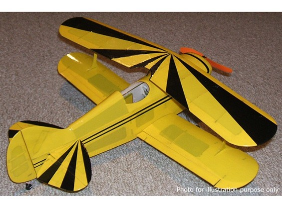 Parque Modelos Escala Capricho Series Pitts S1C Balsa (Kit)