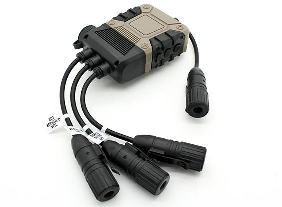 Z Tactical Z119 Z4OPS PRO PTT (Terra Preta, Lite Edition Ver)