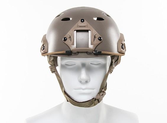 FMA tipo fast Helmet-PJ (Terra Preta)