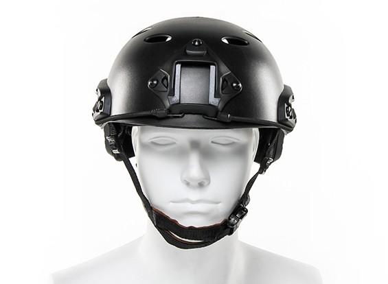 FMA tipo fast Helmet-PJ (Black)