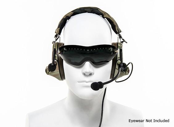 headset Z-tático Z041 ComTac II (MultiCam)