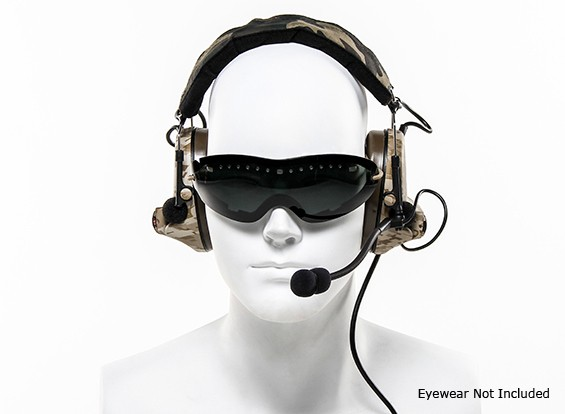 headset Z-tático Z041 ComTac II (Desert Digital)