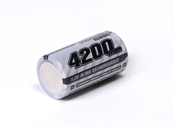 Turnigy recarregável Sub-C 4200mAh 1.2V NiMH Series High Power
