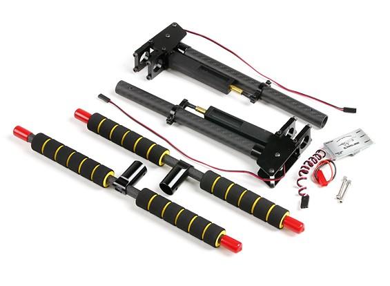 Multi-Rotor do metal e carbono retrátil Landing Gear com a Unidade de Controle de 16mm tubos de montagem