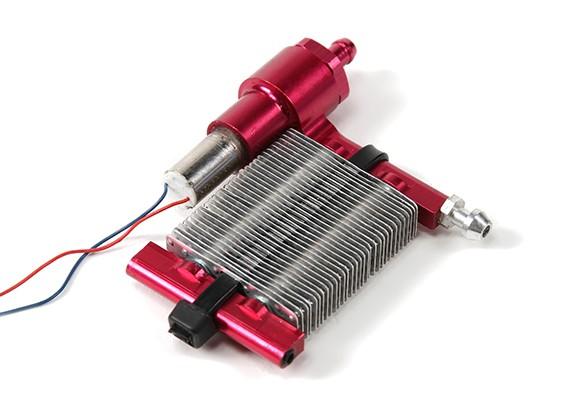 Sistema de refrigeração líquida w / Auto Bomba de circulação e radiador