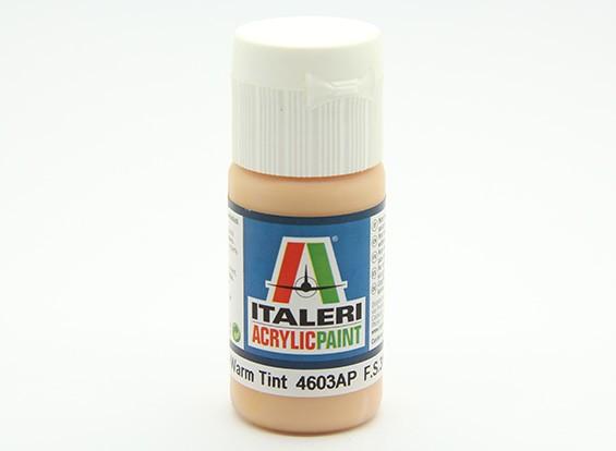 Italeri Pintura acrílica - Plano Tom de pele matiz quente