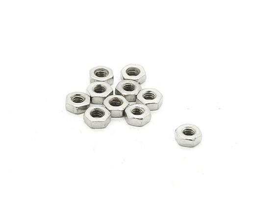 RJX X-TRON 500 m2 Hex padrão Nuts # XT8025 (10pcs)
