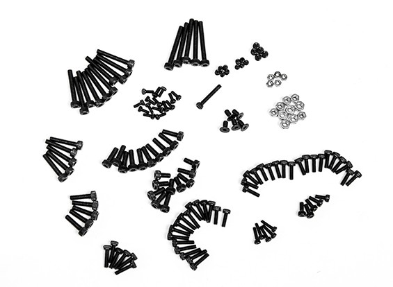 RJX X-TRON 500 completa Screw Set # X500-6001 (130pcs)