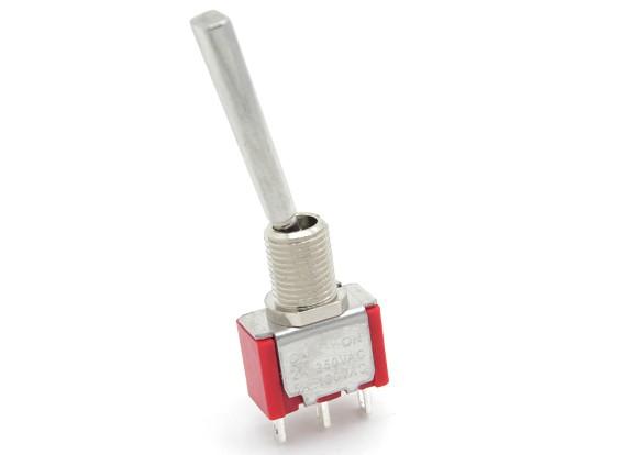 FrSKY substituição 2 Posição Longa interruptor com apartamento Alternar para Taranis Transmissor