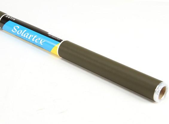 Cetim Solartex pré-pintado Iron-On tecido que cobre (verde escuro) (5mtr)