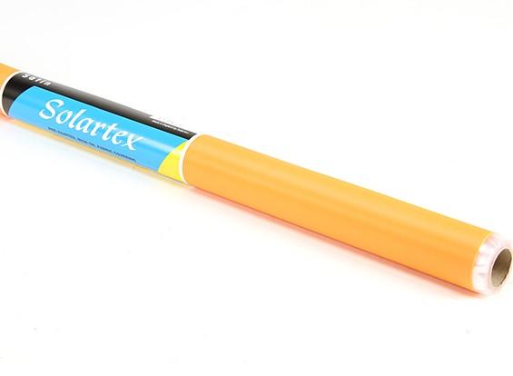 Cetim Solartex pré-pintado Iron-On tecido que cobre (laranja do vintage) (5mtr)