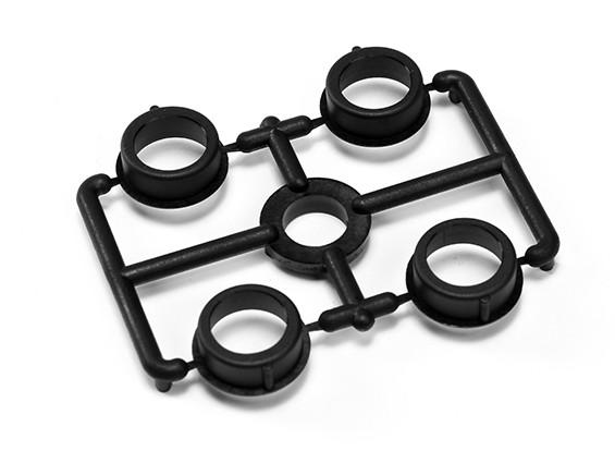 XRAY T4 2014 1/10 Touring Car - Composite rolamento de esferas de Ajustamento Hub (4) - T4