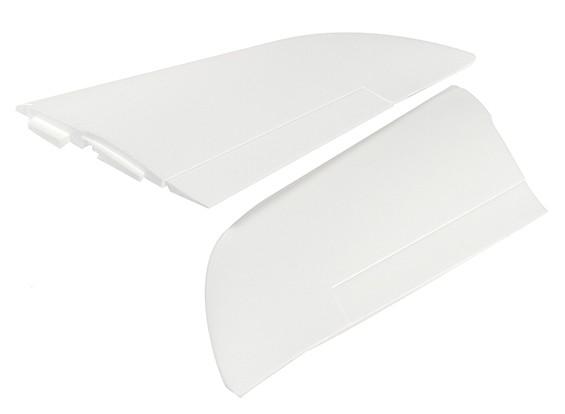 Fantasma FPV Flying Wing 1.550 milímetros V2 - Substituição Principal Wing (1pair)