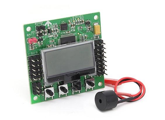Hobbyking KK2.1.5 Multi-rotor LCD vôo Conselho de Controle Com 6050MPU E Atmel 644PA