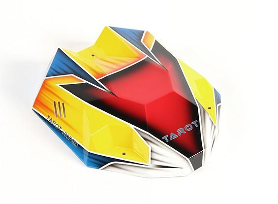 Estilo Tarot 680Pro HexaCopter Heli pintada Canopy com Fitting Kit (1pc)