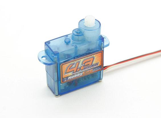 Passatempo Rei 4,3g / 0,5 kg / .10sec Micro Servo