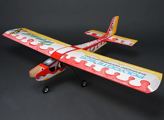 Hornet Hi-Wing instrutor Balsa Brilho / 1.580 milímetros EP (ARF)