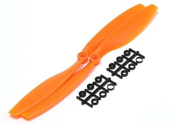 Turnigy Slowfly Hélice 10x4.5 Orange (CW) (2pcs)
