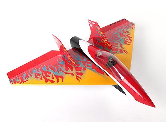 Delta foguete alta velocidade asa - Red 640 milímetros (ARF)