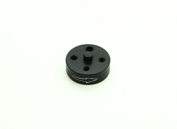 CNC Alumínio Quick Release auto-aperto Prop Adapter - Black (Prop Side) (sentido horário)