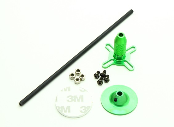 Universal GPS Folding Antena Base de Set / verde