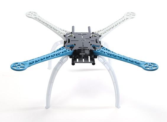 Quadro S500 Glass Fiber Quadrotor com 480 milímetros APO