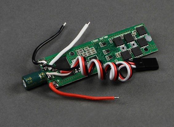 Quanum Nova FPV GPS Waypoint Quadrotor - Speed Controller (luz vermelha)