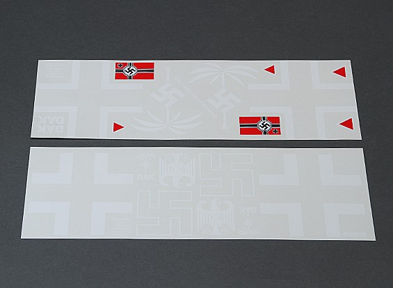 Afrika Korps autoadesivo Decal Set