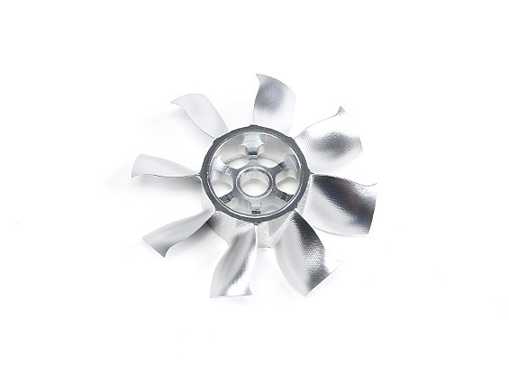 Dr. Mad Thrust CNC Alloy 70 milímetros 8-Blade Fan Rotor
