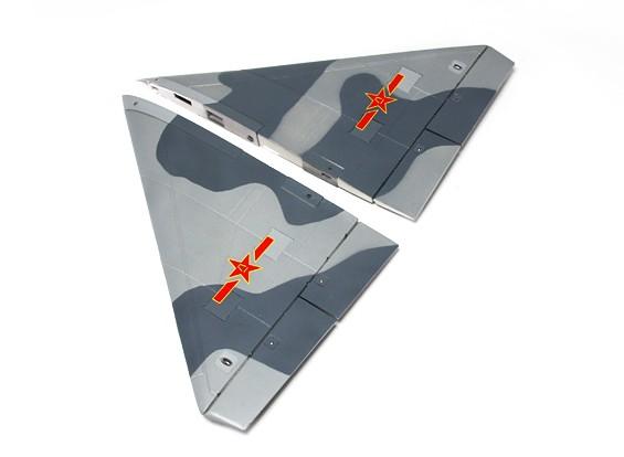 HobbyKing ™ J-10 Vigorosa 956 milímetros Dragon - Substituição Set Asa