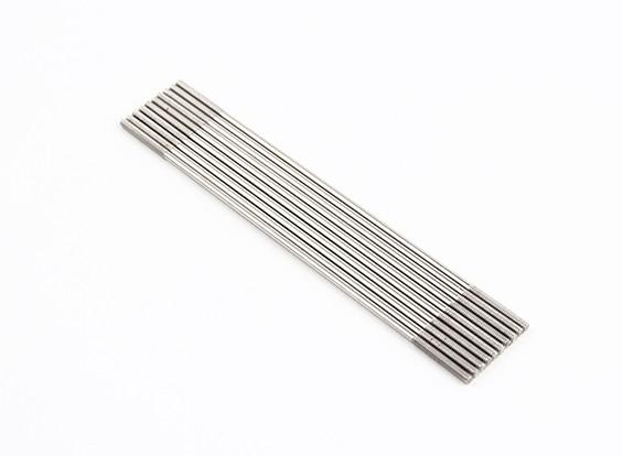 Empurre hastes de aço inoxidável M2x100mm (LH & RH rosca) (10pcs)