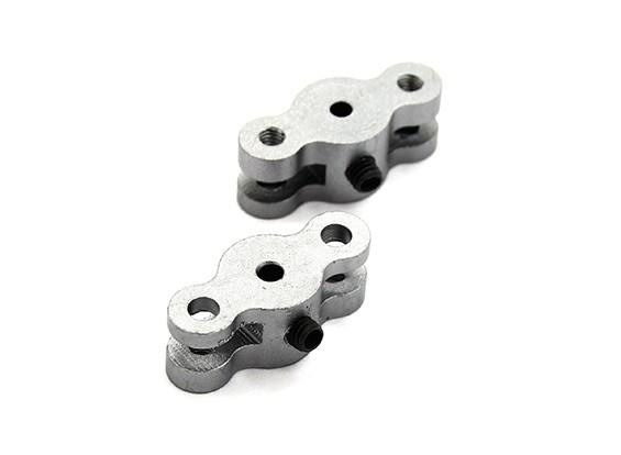 21 milímetros hélice dobrável Adaptador para dois milímetros Shaft (Titanium Cor) 1 par