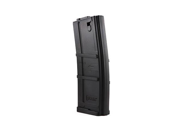 Rei de Armas 135rounds revistas de estilo SIG556 para M4 AEG (Black)