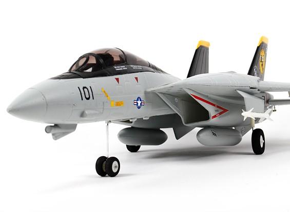 F-14 Tomcat gêmeo Ducted Fan EPO 1,000 milímetros (PNF)
