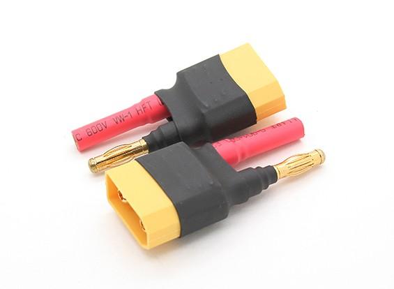 XT90 a 4.0mm bala adaptador de bateria (2pcs / bag)