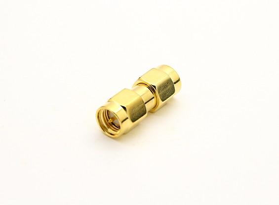 SMA plug <-> SMA Plug adaptador