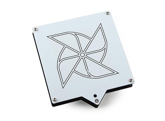Circular 1.2Ghz sem fio RHCP Antena Patch (SMA) CPATCH12