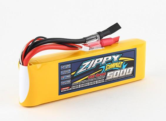 ZIPPY Compact 5000mAh 2s 60c Lipo pacote