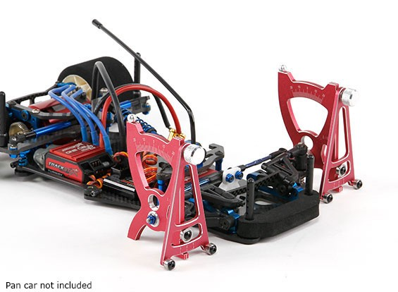 TrackStar 1/10 e 1/12 Scale Pan Car Set-up do sistema